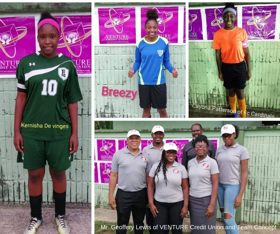 Concept Coaching's Under 20 Female Football Tournament